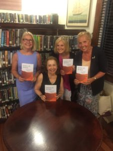 Vassar '73 at the Jacob Sears Memorial Library Author Talk for DYING IN DUBAI